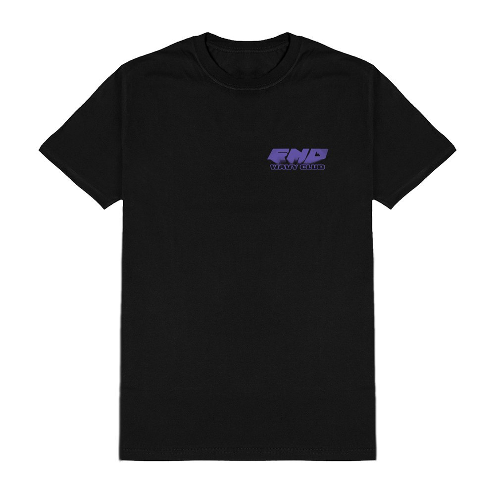 "T-Shirt FND ""Wavy Club"" Black"